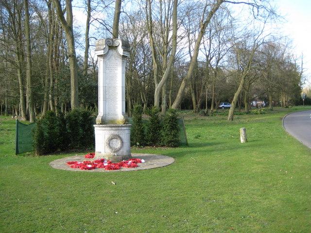 Chesham Bois: The War Memorial