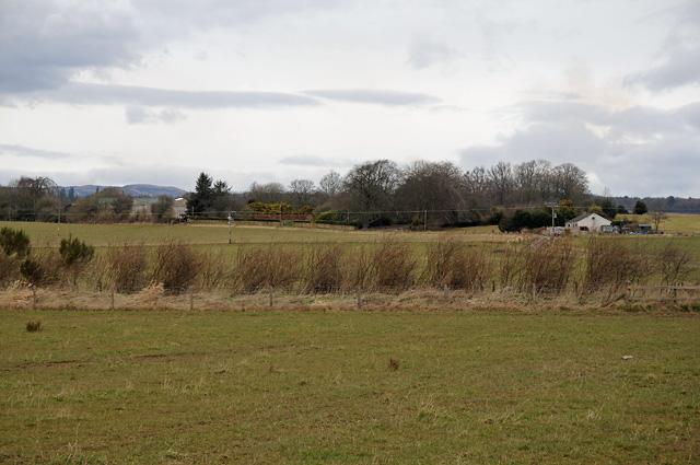 Farmland and Wood around Balgowan Home Farm