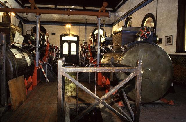 Hathorn, Davey steam engines, Cheddars Lane pumping Station