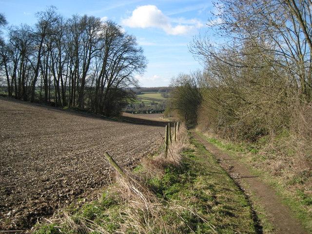 Amersham: Footpath to Mantles Green