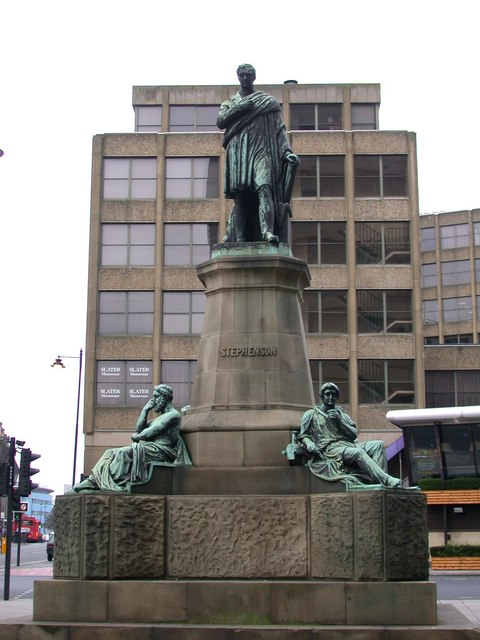 George Stephenson monument