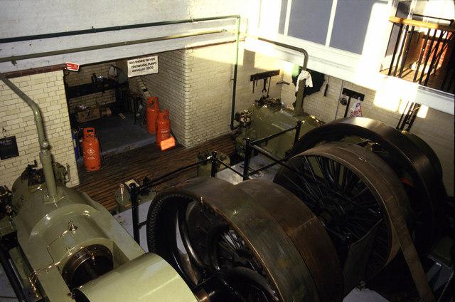Gas engine pumps, Cheddars lane