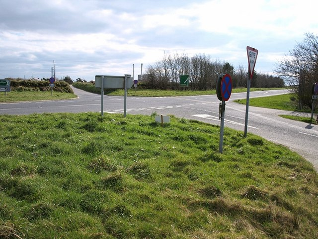Crossroads on the A39