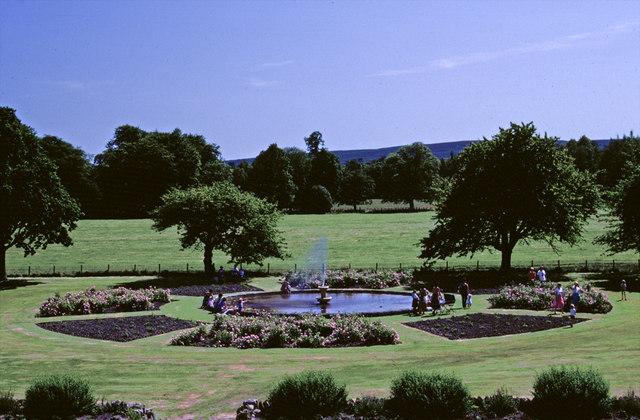 Rose Garden, Skibo Castle, nr Dornoch, Sutherland