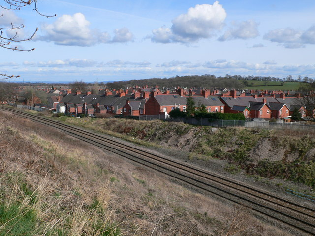 Ruabon over the Railway