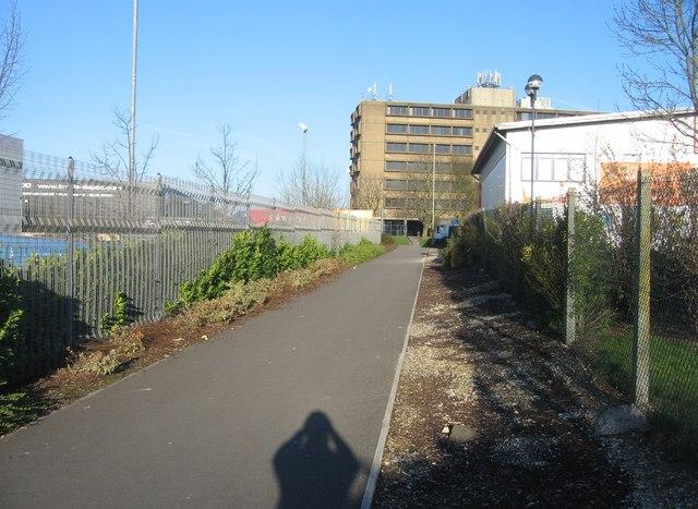 Footpath, some sunshine & I