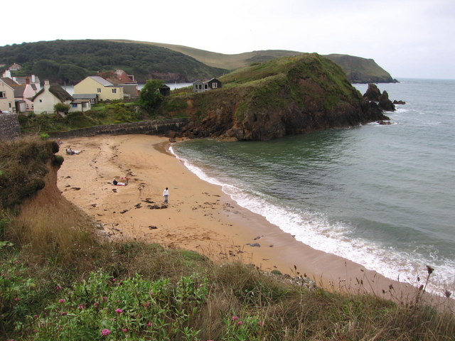 The beach at Outer Hope