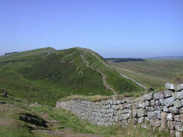 Hadrian's Wall near Milecastle 37