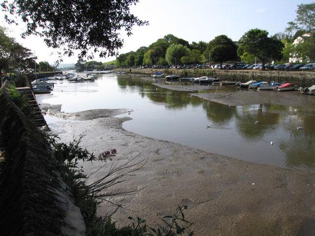 Head of Kingsbridge Estuary at low tide