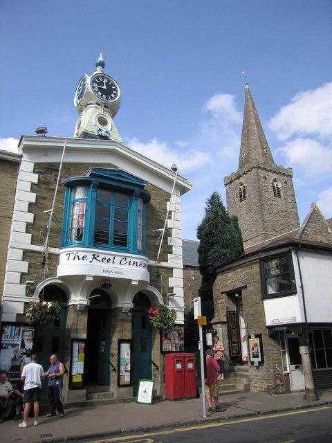 Cinema & church, Fore Street, Kingsbridge