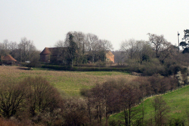 View towards The Oast, Bellhurst Farm, Ticehurst Road, Hurst Green, East Sussex