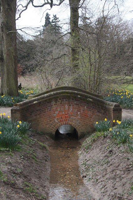 Footbridge in Nowton Park