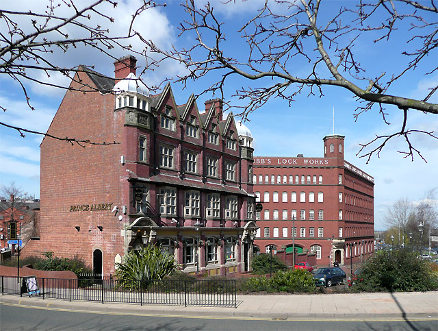 Prince Albert and Chubb's, Wolverhampton