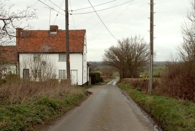 Church Lane, heading towards Ongar Road