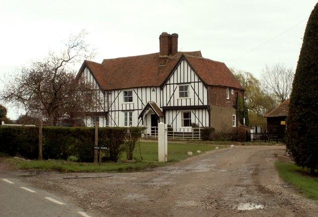 The farmhouse at Hill Farm
