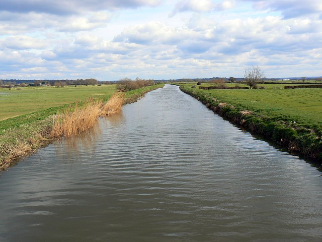 River Brue at Cow Bridge, south of Glastonbury