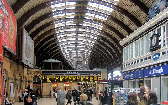 Main Concourse, York Railway Station
