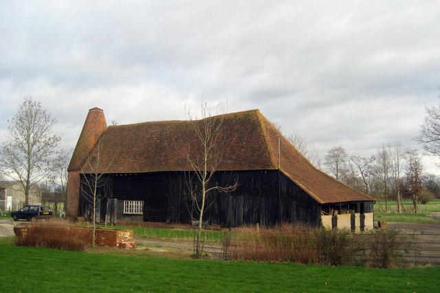 The Old Oast, Sandhurst Bridge Farm, Staplehurst Road, Frittenden, Kent