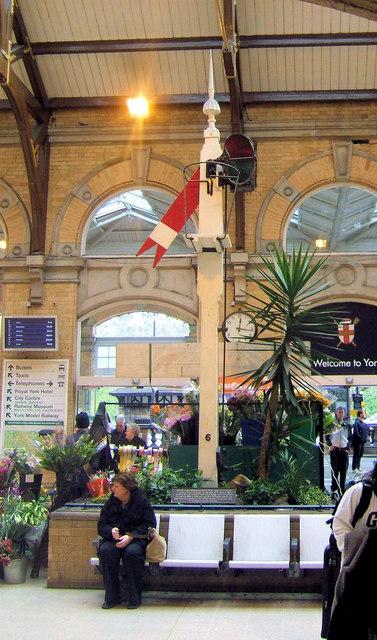 Booking Hall, York Railway Station