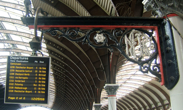 Decorative Bracket at York Railway Station