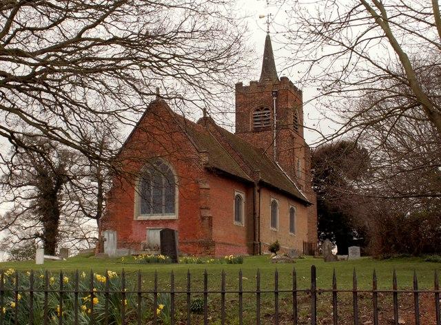 St. Michael; the parish church of Theydon Mount