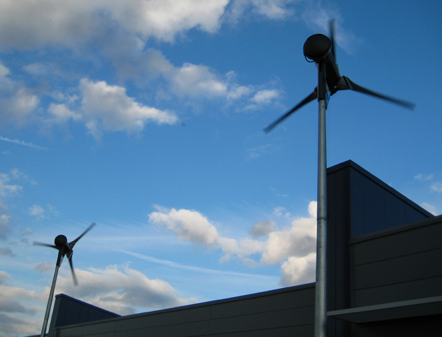 Wind turbines, Neasden