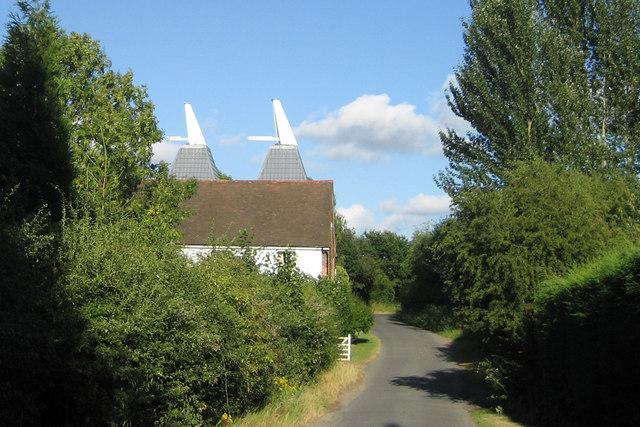 Biggenden Oast, Watermans Lane, Brenchley, Kent