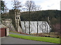 SK1692 : Howden Reservoir - Dam Wall View by Alan Heardman