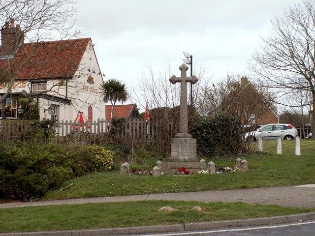 The War Memorial at Cocks Green, Great Parndon