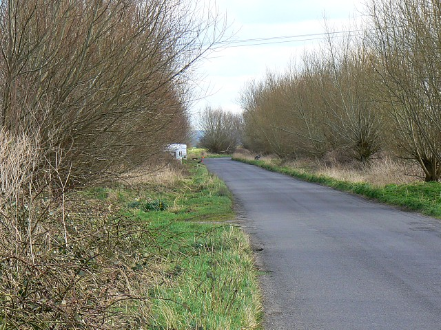 Watchwell Drove, south of Glastonbury