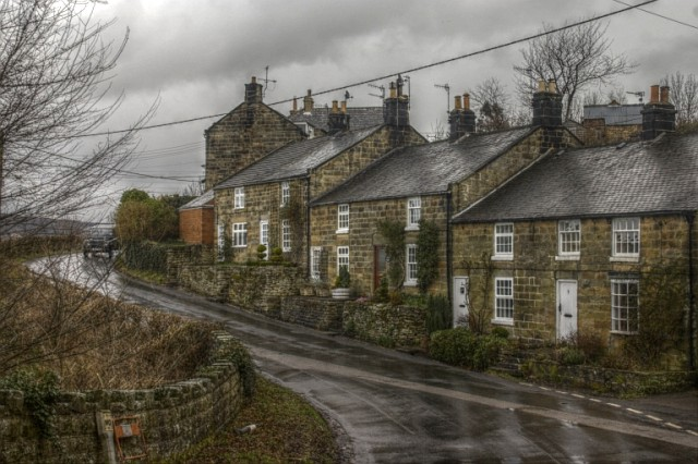 New Houses near Grosmont