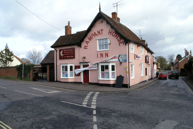 The Rampant Horse Inn, Needham Market