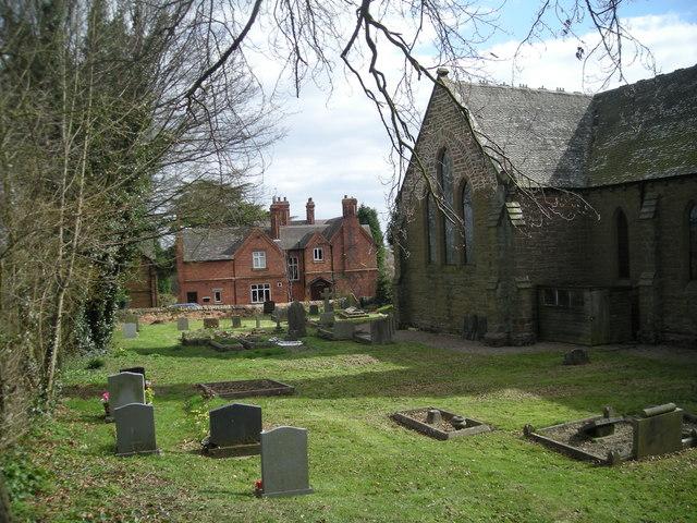 St John's churchyard, Bishops Wood