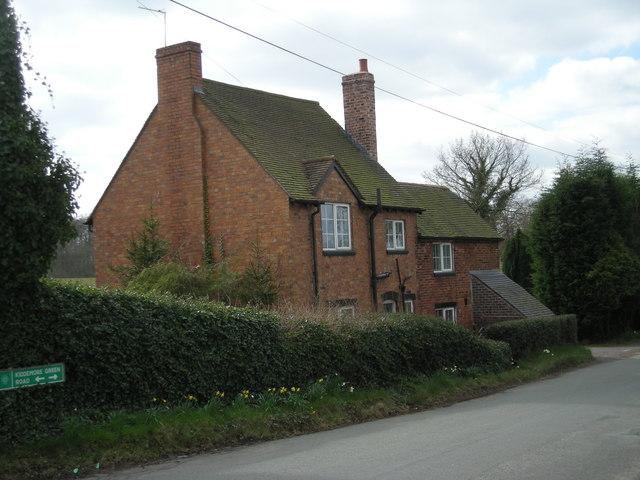 Cottage on Kiddemore Green Road