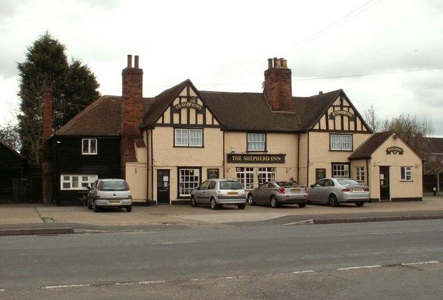 'The Shepherd Inn' on Blackmore Road