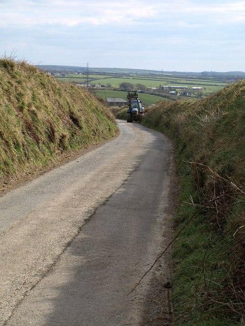 Lane near Torlands
