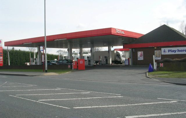 Total Filling Station - Selby Road