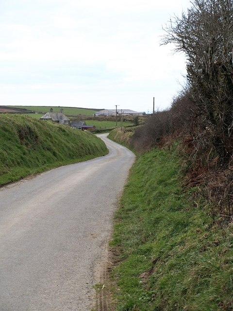 Lane to Treweens Farm