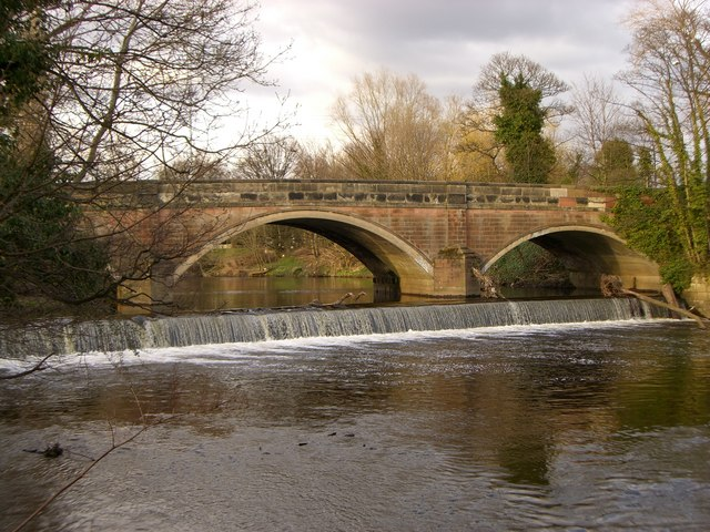 Weir at Otterspool