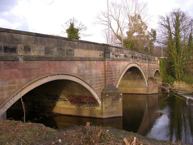 Bridge at Otterspool