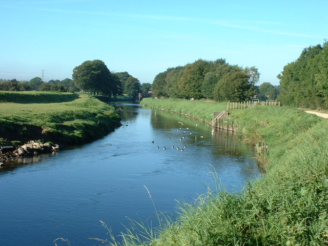 River Mersey near Parrs Wood