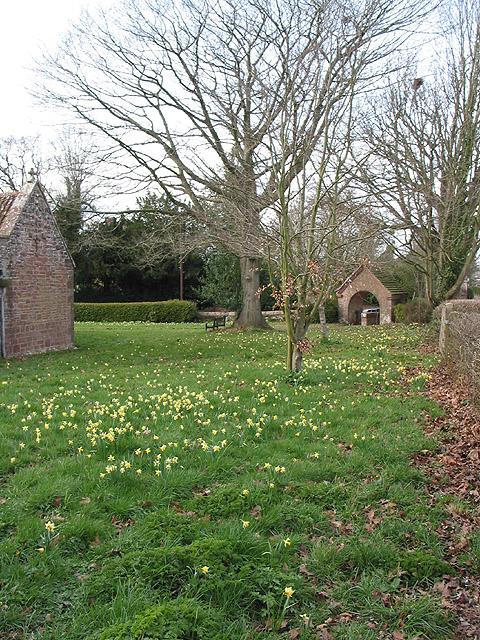 Lych gate, St. Edwards, Kempley