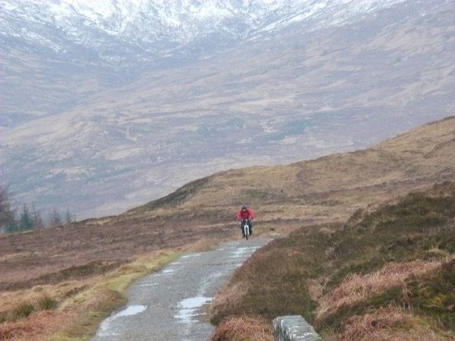 West Highland Way looking S