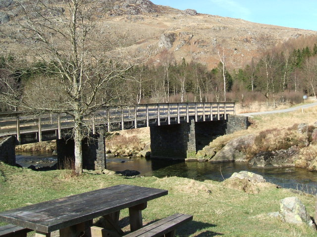Bridge at Birks Bridge Car Park