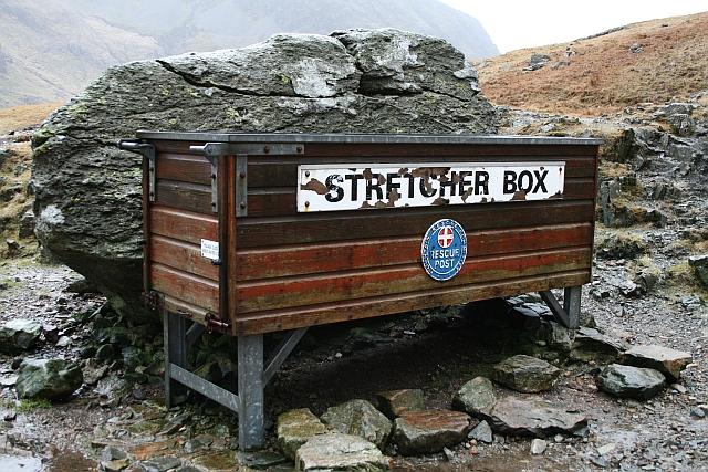 Stretcher Box at Styhead