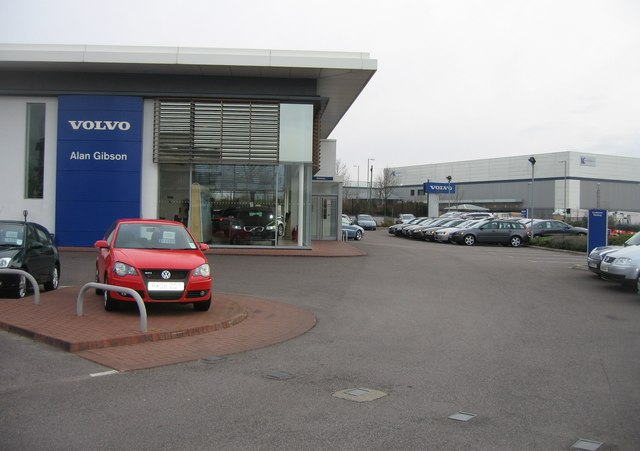 Volvo dealer - Brunel Road