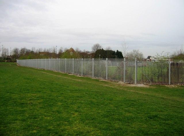 Dove House - boundary fence