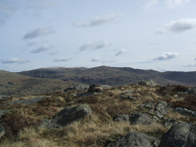 The top of Demming Crag