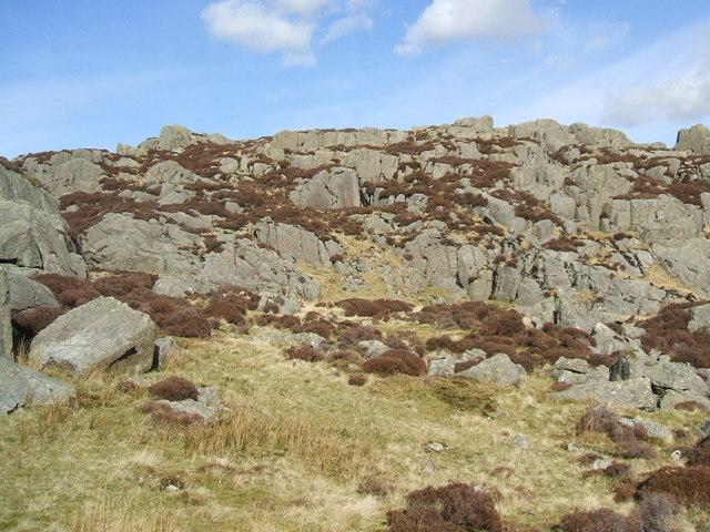 Long Crag on Ulpha Fell