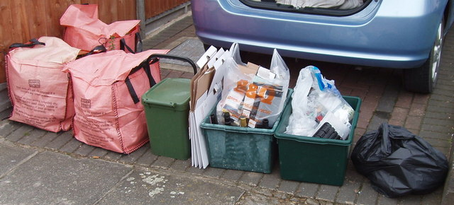 Complex recycling in Ealing
